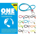 Original Lanyards® ONE OF THE WORLD stylisches Länder...